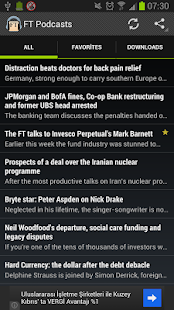 Financial Times Podcast - screenshot thumbnail