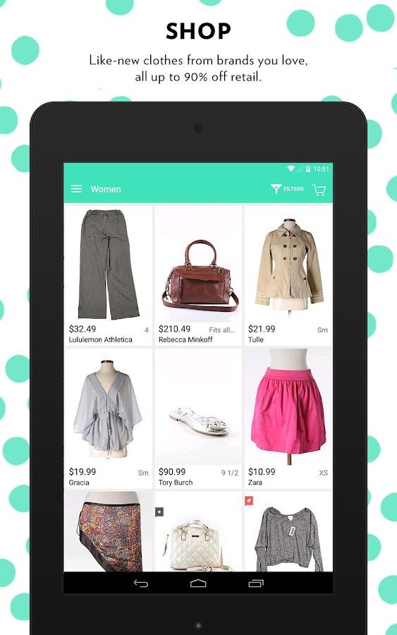thredUP - Shop + Sell Clothing - screenshot