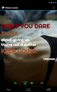 Fitness Quotes - screenshot thumbnail