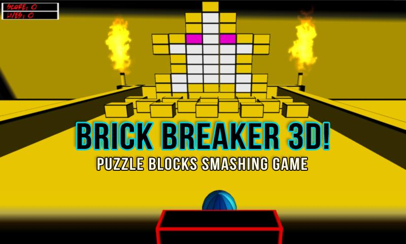 Brick Breaker 3D Puzzle Blocks - screenshot