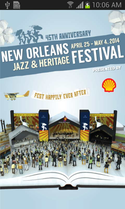 New Orleans Jazz Festival - screenshot