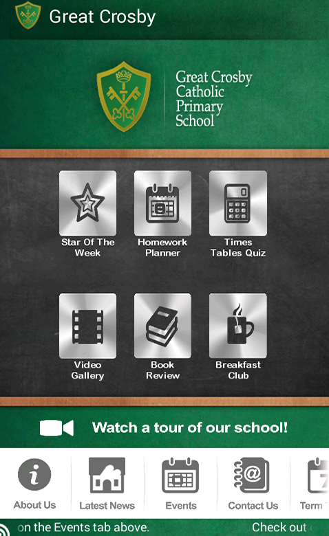 Great Crosby Catholic Primary- screenshot