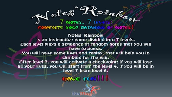 Notes' Rainbow Free - screenshot thumbnail