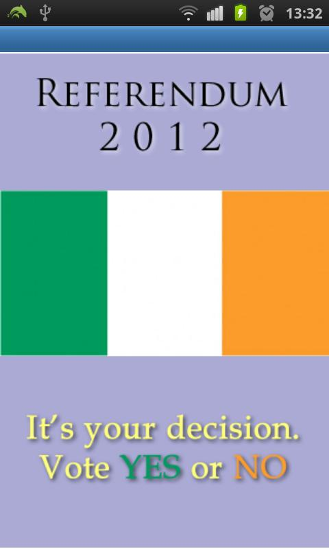 Ireland Referendum 2012- screenshot
