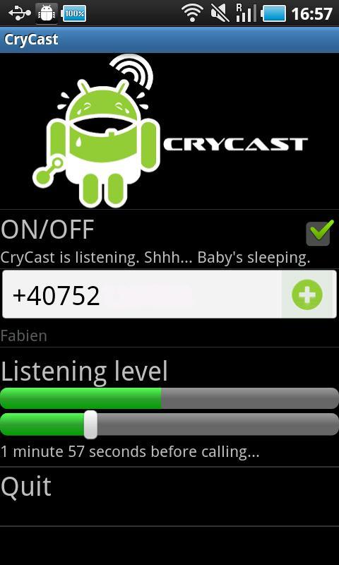 CryCast- screenshot