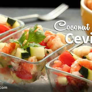 Coconut Milk Ceviche.
