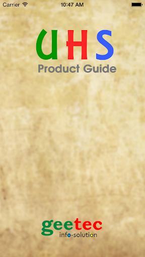 UHS USANA Product Guide