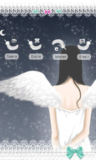 CUKI Theme Angels White Wing.
