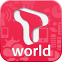 모바일 T world logo