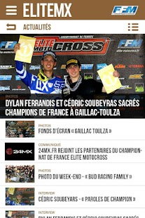 Elite Motocross Capture d'écran