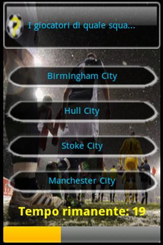 Tu lo Conosci il Calcio? Free - screenshot