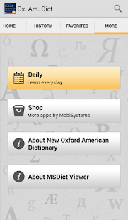 New Oxford American_Dictionary - screenshot thumbnail