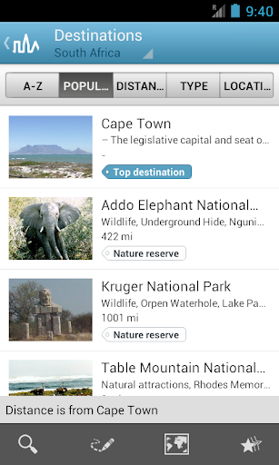 South Africa Guide by Triposo