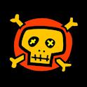 Skull Analog Clock Widget icon