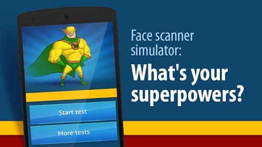 脸部扫描仪:什么超级英雄