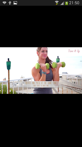 女性手臂鍛煉