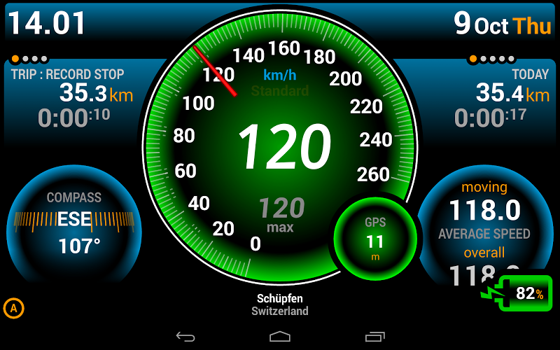 Ulysse Speedometer Pro Screenshot 10