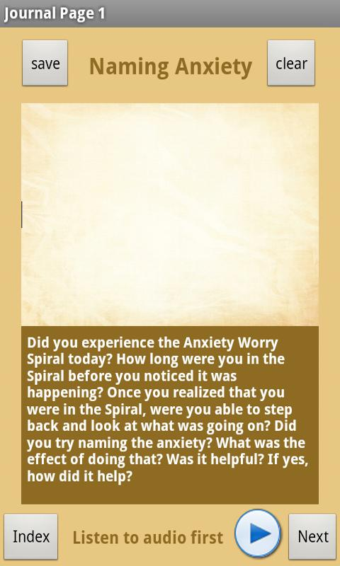 At Ease Anxiety & Worry Relief - screenshot