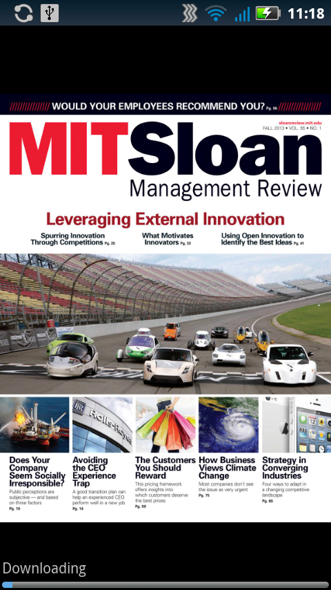 MIT Sloan Management Review - screenshot