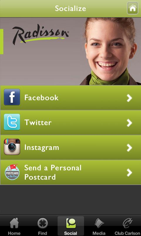 Radisson iConcierge - screenshot