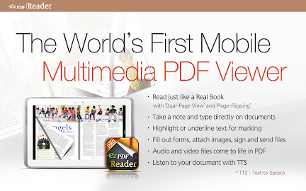 ezPDF Reader - Multimedia PDF Screenshot 1