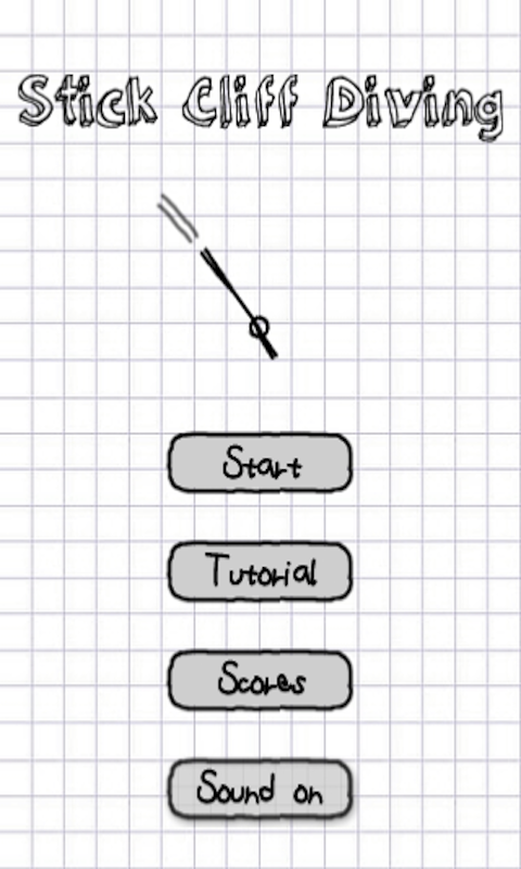Stickman Cliff Diving screenshot #6