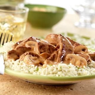 Beef & Mushroom Dijon