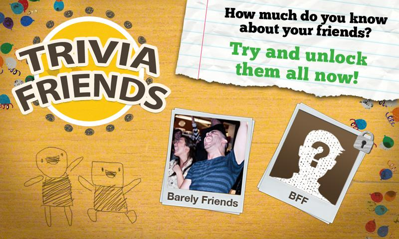 Trivia Friends- screenshot