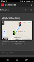 Screenshot of Spätshops Dresden & umgebung