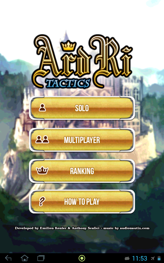 Ard Ri Tactics- screenshot