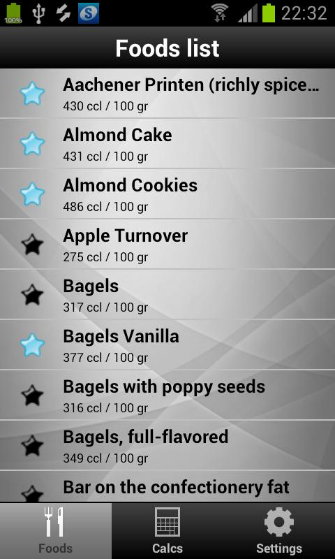 Diet & Calories Tracker - screenshot