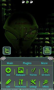How to download Alien X GO Launcher EX 1.0 mod apk for bluestacks