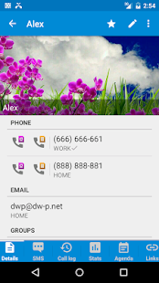DW Contacts & Phone & Dialer Screenshot