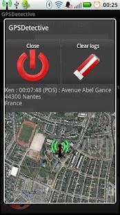 GPS Detective - náhled