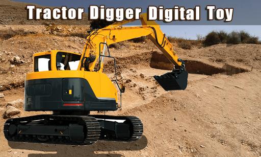 拖拉機挖掘機數碼玩具