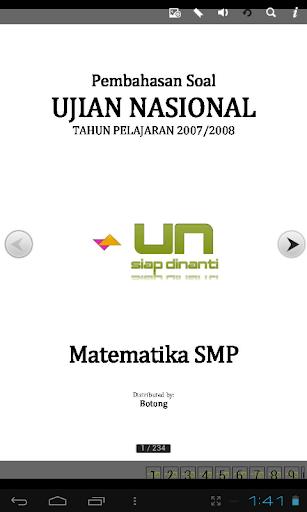 Soal UN SMP Matematika
