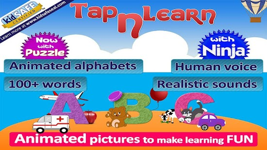 Animated alphabet for kids,ABC- screenshot thumbnail