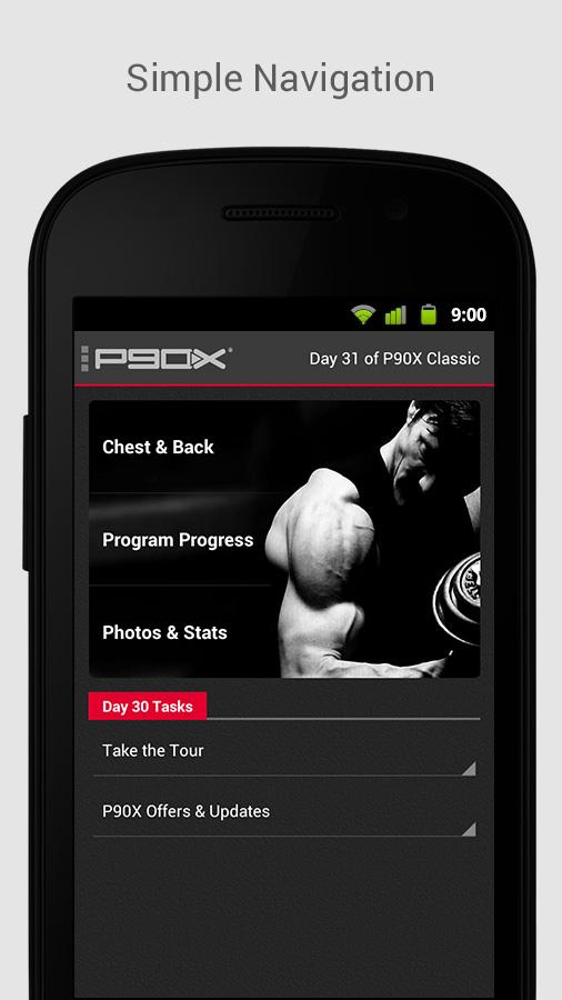 P90X - screenshot