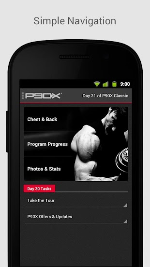 P90X website - free download  apk for android