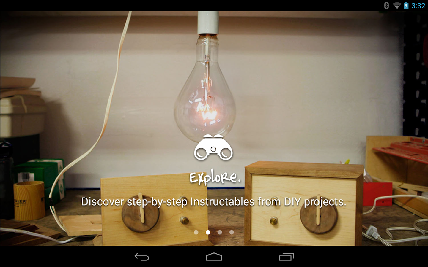 Instructables- screenshot