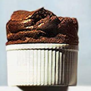 Chocolate Souffle.