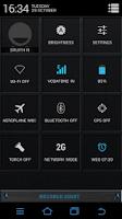Screenshot of Brushed Night CM11/10 Theme