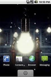Fireflies Live Wallpaper Free Screenshot 1