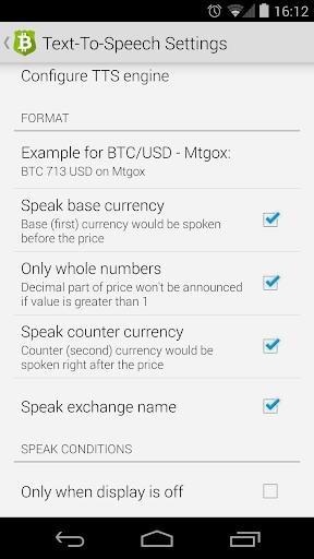 Bitcoin Checker 1.16 screenshots 7