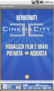 Webtic CinemaCity Ravenna - screenshot thumbnail