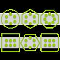 Stamped Holo Green Pk SL Theme icon