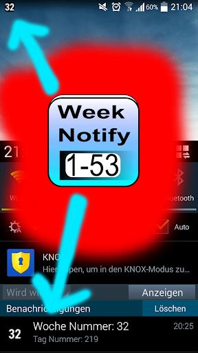 Kalenderwoche Notify