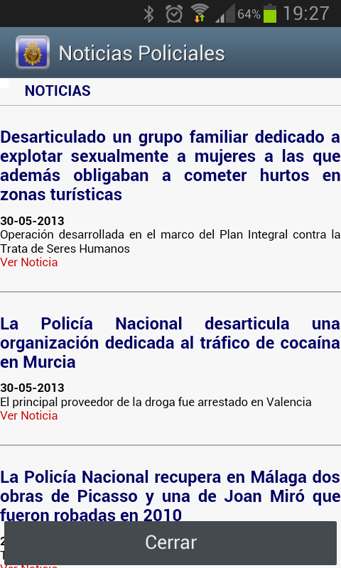 TestManager +Policia Nacional- screenshot
