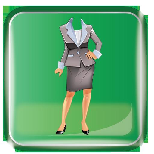 女性時尚套裝照片拼貼 攝影 App LOGO-APP試玩