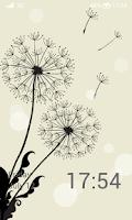 Screenshot of Launcher 8 theme:Dandelions